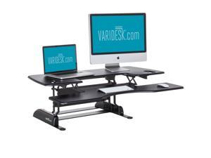 VARIDESK Pro Plus 48 Height-Adjustable Standing Desk - Black