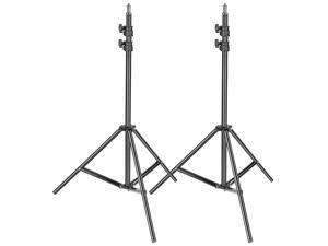 Neewer 2-pack Photography Light Stand - Metal Adjustable 36-79 inches/92-200 centimeters Heavy Duty Support Stand for Photo Studio Softbox, Umbrella, Strobe Light, Reflector and Other Equipment