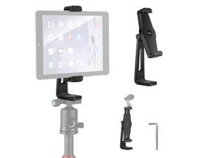 """Neewer Tablet Tripod Mount Adapter, 360° Rotatable Universal Tablet Clamp Holder for iPad, Surface Tab, Galaxy Tab and Other Tablets 4.9""""–8.7"""" in Width, Use on Tripod/Monopod/Selfie Stick"""