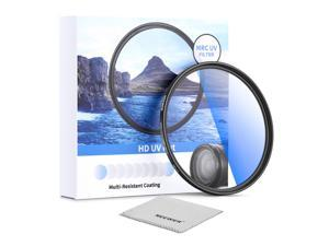 Neewer 58mm MRC UV Protection Filter, 30 Multi-Layer Coated/High Definition//Waterproof/Scratch Resistant UV Fliter with Nano-Coating, Ultra-Slim UV Filter for 58mm Camera Lens