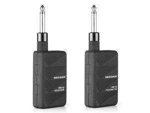 Neewer® Black 2.4GHZ Audio Wireless Digital Guitar Transmitter and Receiver with Batteries