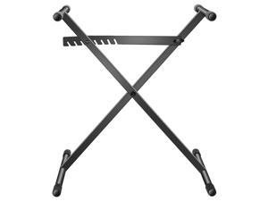 Neewer X-Style Piano Keyboard Stand - Single-Braced Heavy Duty Steel Construction with Solid Locking System, Height and Width Adjustable Support Stand for Keyboard Instrument