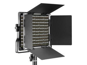 CRI 95+ for Studio YouTube Outdoor Video Photography Lighting White, Orange 600 LED Beads Neewer Dimmable Bi-Color 600 LED Video Light with U Bracket and Color Filter 3200-5500K