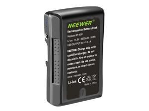 Neewer V Mount/V Lock Battery - 95Wh 14.8V 6600mAh Rechargeable Li-ion Battery for Broadcast Video Camcorder, Compatible with Sony HDCAM, XDCAM, Digital Cinema Cameras and Other Camcorders