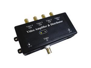 KJM AMP-1/4 Video Amplifier, 1 in/4out
