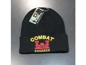 e92faedbf7e Combat Engineer Mens Cuff Beanie Skull Cap  Black