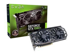 EVGA GeForce GTX 1080 Ti SC Black Edition GAMING, 11G-P4-6393-KR, 11GB GDDR5X, iCX Cooler & LED - Includes Box. Tested