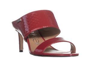 95cbb5064f0 Calvin Klein Cecily Wide-Strap Mule Sandals