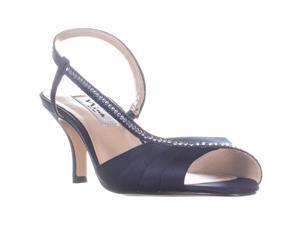 74c787638a5 Nina Cabell Slip On Heeled Dress Sandals ...