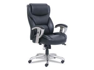 SertaPedic® Emerson Big and Tall Task Chair  Supports up to 400 lbs.  Black Seat