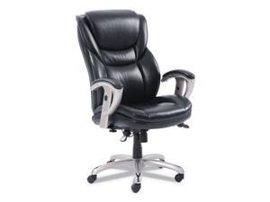 SertaPedic® Emerson Executive Task Chair  Supports up to 300 lbs.  Black Seat