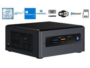 Intel NUC NUC8I3BEH Home and Business Desktop Black (Intel i3-8109U 2-Core, 16GB RAM, 256GB PCIe SSD, Intel Iris Plus 655, Wifi, Bluetooth, 4xUSB 3.1, 1xHDMI, SD Card, Win 10 Pro)