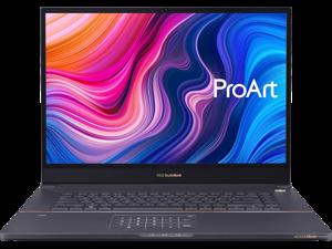 """ASUS ProArt StudioBook Pro 17 W700G3T Workstation Laptop (Intel Xeon E-2276M 6-Core, 64GB RAM, 2x8TB PCIe SSD RAID 1  (8TB), 17.0"""" 1920x1200, NVIDIA Quadro RTX 3000 Max-Q, Fingerprint, Win 10 Pro)"""
