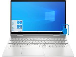 "HP ENVY x360 - 15t Home & Business Laptop (Intel i7-1165G7 4-Core, 16GB RAM, 512GB SSD, 15.6"" Touch  Full HD (1920x1080), Intel Iris Xe, Active Pen, Fingerprint, Wifi, Bluetooth, Win 10 Home)"