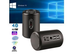 G2 Windows 10 2.0 MP WiFi MINI PC Bay Trail CR Intel Z3735F Quad Core 2G/32G