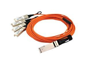 Axiom QSFP+ to 4 SFP+ Active Optical Cable 7m