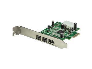 StarTech 3 Port 2b 1a PCI Express 1394 FireWire Adapter Card