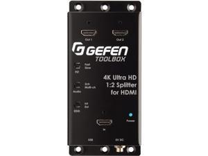 GEFEN GTB-HD4K2K-142C-BLK 4K Ultra HD 1.2 Splitter HDMI