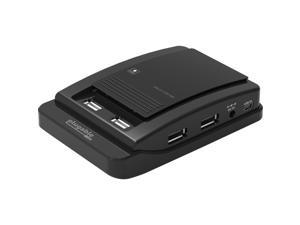 Plugable Usb 2.0 7-Port Hub With 15W Power Adapter