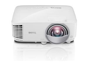 BenQ MW826ST Projector White Wxga;3400 Ansi Lumens;Hdmi/Mhl;D-Sub X2;S-V;A X2/10