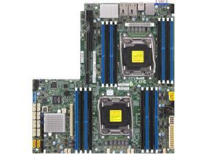 SUPERMICRO X10DRW-IT-B Supermicro X10DRW-IT-B Dual LGA2011 Intel C612 DDR4 SATA3 and USB3.0 V and 2GbE Proprietary WIO Server Motherboard