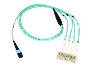 Axiom Fiber Optic Network Cable - 3.28 ft Fiber Optic Network Cable for Network Device - First End: