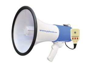 PYLE MEGAPHONE Speaker System with Built-in Rechargeable Battery and Handheld Microphone