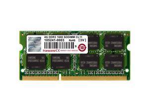 Transcend 4GB DDR3 1600 SO-DIMM CL11 2Rx8