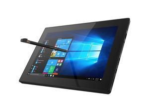 "Lenovo Tablet 10 20L3000HUS Tablet - 10.1"" - 4 GB LPDDR4 - Intel Celeron N4100 Quad-core (4 Core) 1.10 GHz - 128 GB - Windows 10 Pro 64-bit - 1920 x 1200 - In-plane Switching (IPS) Technology - Black"