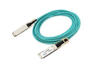Axiom Fiber Optic Network Cable - 98.43 ft Fiber Optic Network Cable for Network Device - 40 Gbit/s