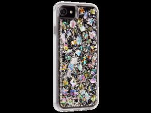 Case Mate Karat Case for Apple iPhone SE / 8 / 7 / 6 / 6S - White / Silver