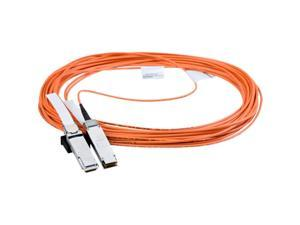 Axiom Fiber Optic Cable - 98.43 ft Fiber Optic Network Cable for Network Device - QSFP