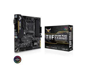ASUS TUF B450M-PLUS GAMING 90MB0YQ0-M0EAY0 AM4 AMD B450 SATA 6Gb/s Micro ATX AMD Motherboard