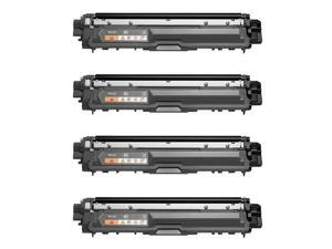 Zoomtoner Compatible   BROTHER TN225 Laser Toner Cartridge Set High Yield Black Cyan Yellow Magenta - Brother DCP-9020CDN HL-3140CW HL-3150CDN HL-3170CDW HL-3180CDW MFC-9130CW MFC-9330CDW MFC-9340CDW