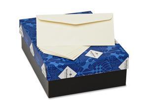 Strathmore 25% Cotton Business Envelopes Ivory 24 lbs 4 1/8 x 9 1/2 500/Box