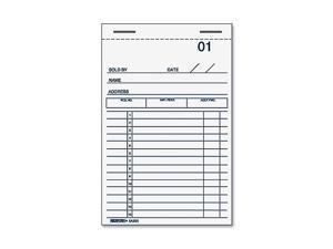 Rediform Sales Receipt Book