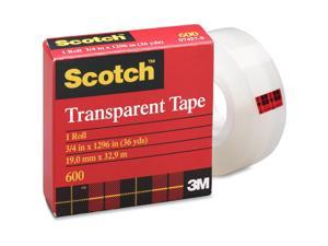 3M Scotch Glossy Transparent Tape