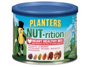 Kraft Planters Heart Healthy Mix Assorted Nuts 9.75oz. Green 05957