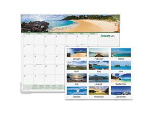 At-A-Glance Seascape Panoramic Desk Pad 22 x 17 2020 89803