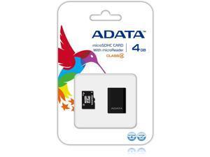 Adata AUSDH4GCL4-RM3BKBL 4 GB microSDHC