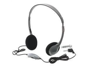 Hamilton Electronics HA2V SchoolMate Personal Mono - Stereo Headphone with in-line Volume