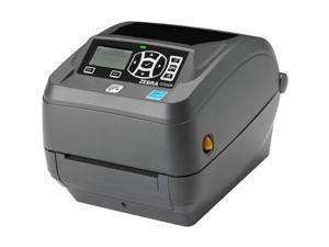 "Zebra ZD500R 4"" Desktop Thermal Transfer Label Printer, 203 dpi, USB, Serial, Centronics Parallel, Ethernet, RFID-UHF US/CA, Dispenser (Peel) - ZD50042-T112R1FZ"