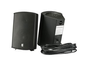 Poly-Planar MA7500 100 W RMS Speaker - 2-way - 2 Pack - Black