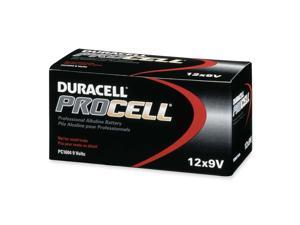 DURACELL Procell PC1604 9V Alkaline Battery, 12-box