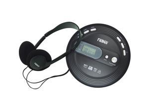 Naxa NPC330 Slim Personal Mp3/CD Player with FM Radio