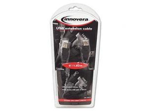 Innovera IVR30010 Gray USB Extension Cable