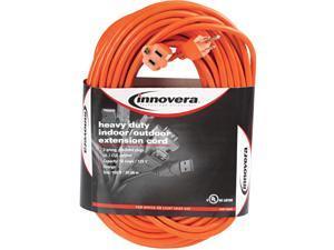 Indoor/Outdoor Extension Cord, 100ft, Orange 72200