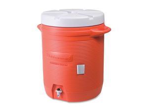 Rubbermaid Commercial 325-1610-01-11 10 Gal Water Cooler,  Orange