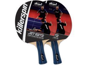 Killerspin Jet Set 2-Pack Table Tennis Racket Set