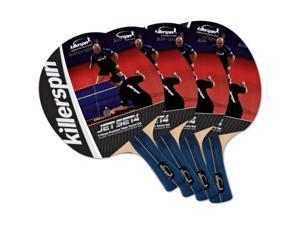 Killerspin Jet Set 4 Table Tennis Racket Set